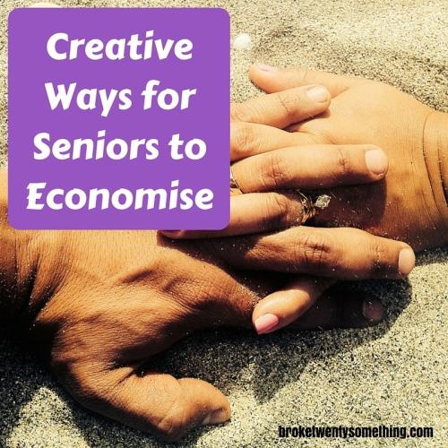 Creative Ways for Seniors to Economise